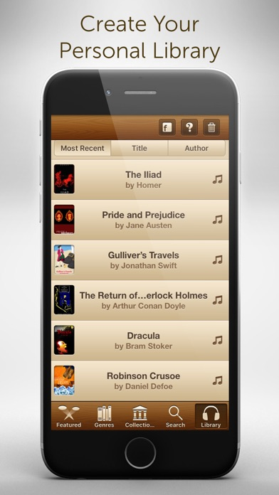 Audiobooks - 2,947 Classics For Free. The Ultimate Audiobook Library Скриншоты5