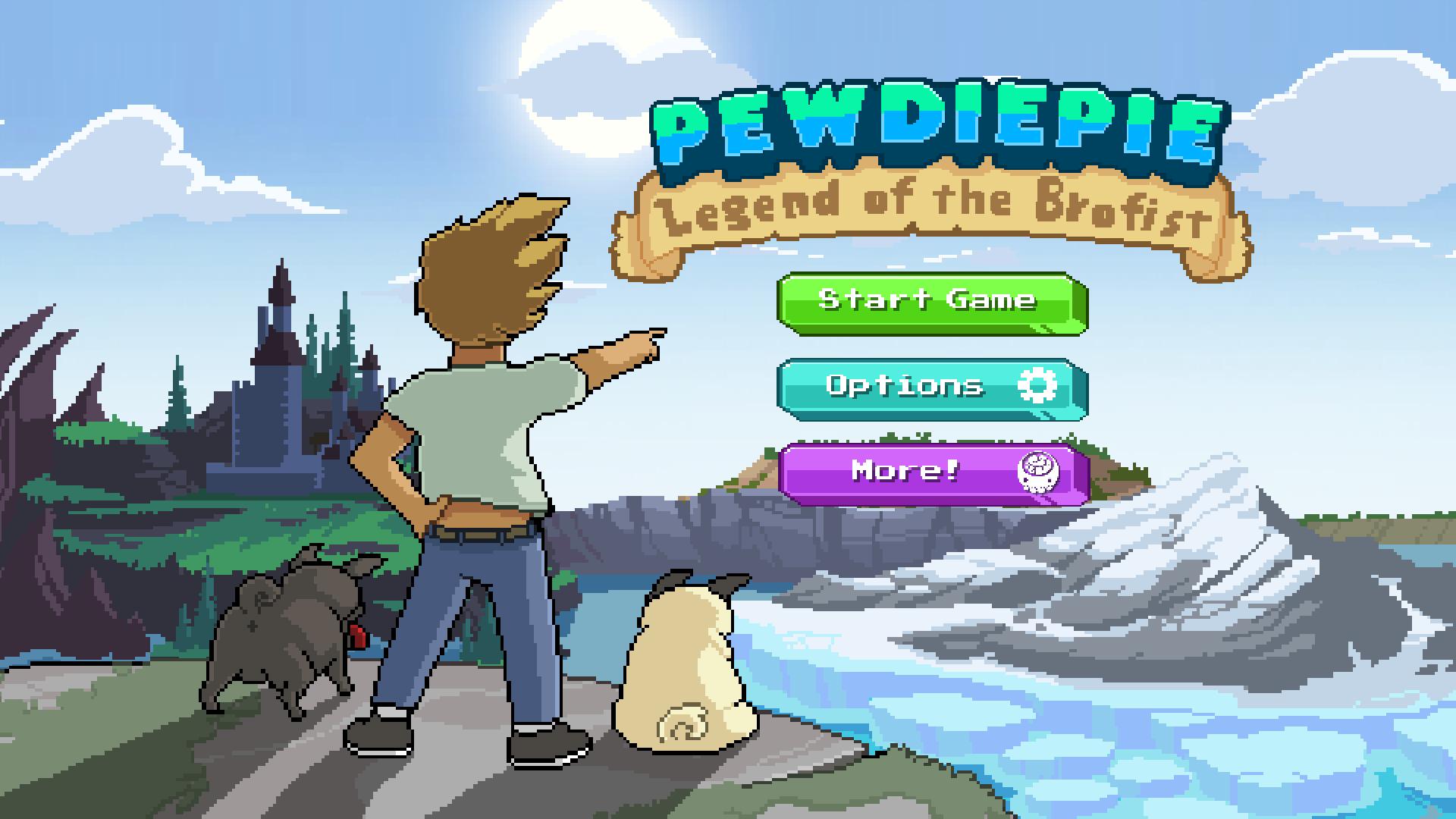 PewDiePie: Legend of Brofist screenshot 11