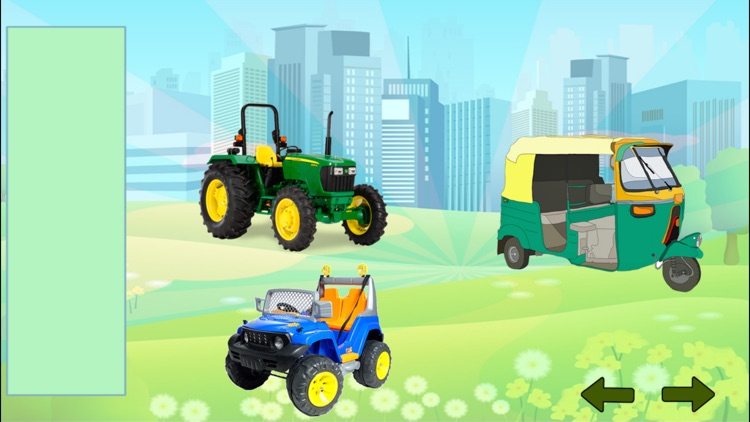 Vehicles Puzzles for Toddlers & Preschool screenshot-3