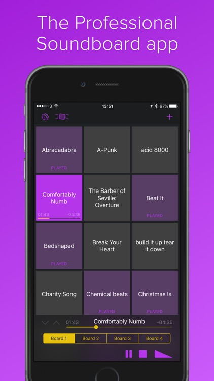 Soundboard Studio - Custom Soundboards for Professional Podcasting, Radio Shows and Musicians screenshot-3