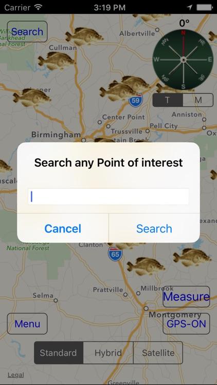 Alabama: Fishing Lakes screenshot-4