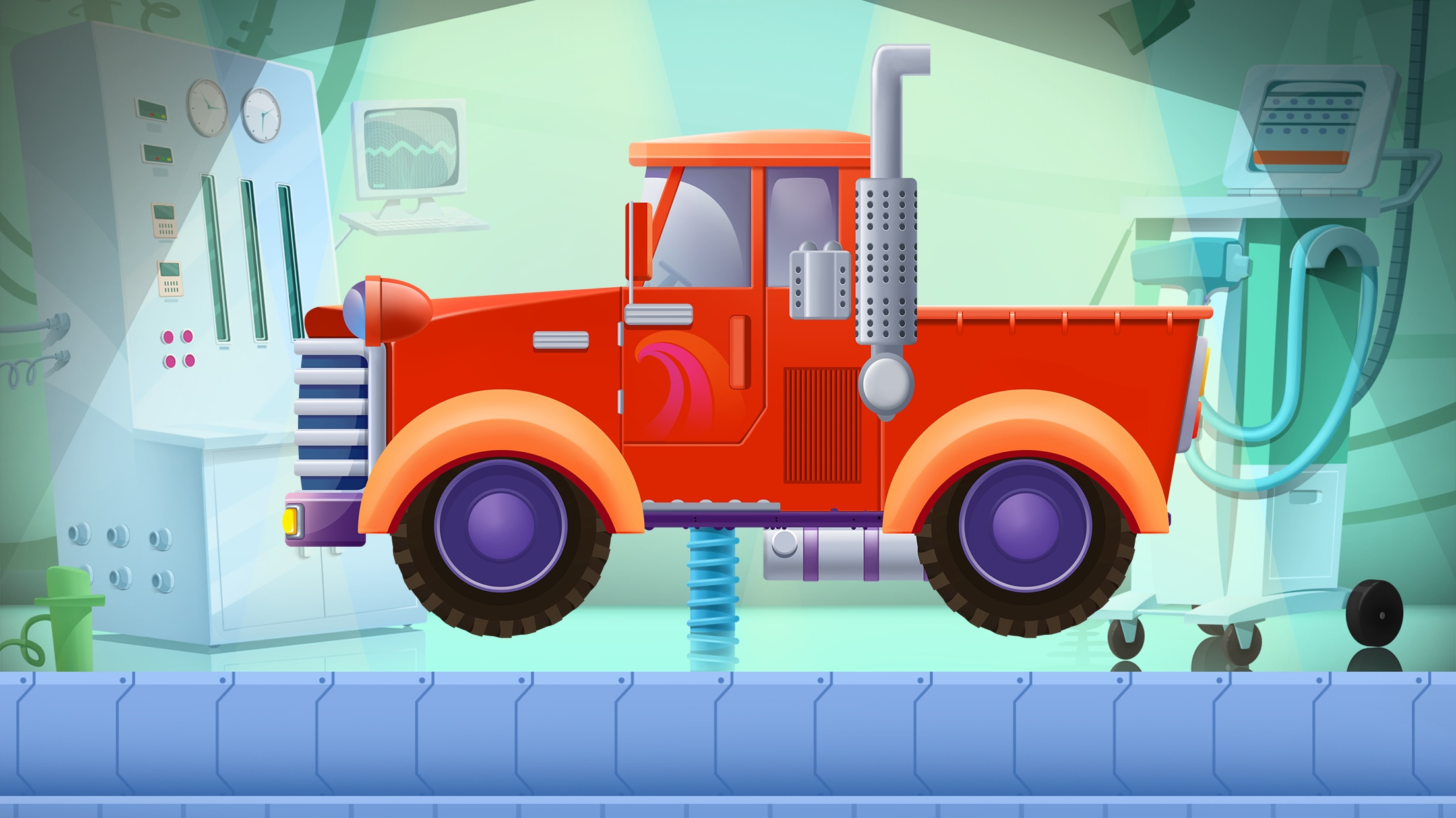 Truck Builder - Driving Simulator Games For Kids Screenshot