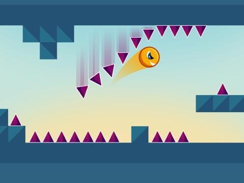 Screenshot #3 for Jumping Genius - Hyper Monster Rush & Swiper Shape Mobile Game
