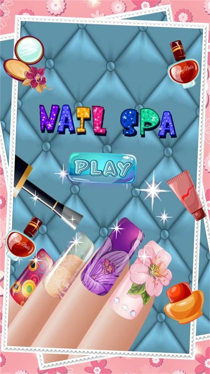 Fashion Nail Salon And Beauty Spa Games For Girls - Princess Manicure Makeover Design And Dress Up