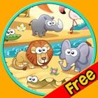 agradável animais da selva - jogo livre icon