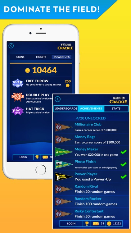 Sports Jeopardy! - Quiz game for fans of football, basketball, baseball, golf and more screenshot-4