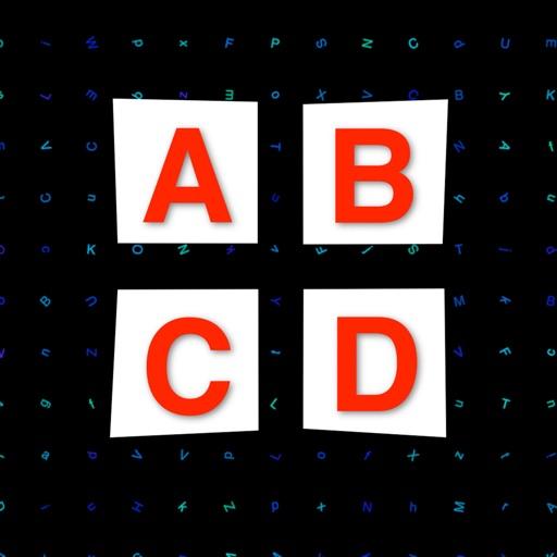 Alphabet Glue - Link similar alphabets on the board