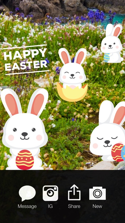 Happy Easter Pro - Easter Celebration Everyday Photo Stickers screenshot-4