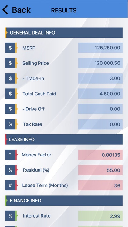 car lease payment calculator by nexuslab. Black Bedroom Furniture Sets. Home Design Ideas