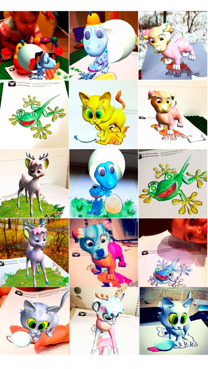 ARKids - AR Сoloring pages for girls. 3D effect augmented reality games. screenshot-4