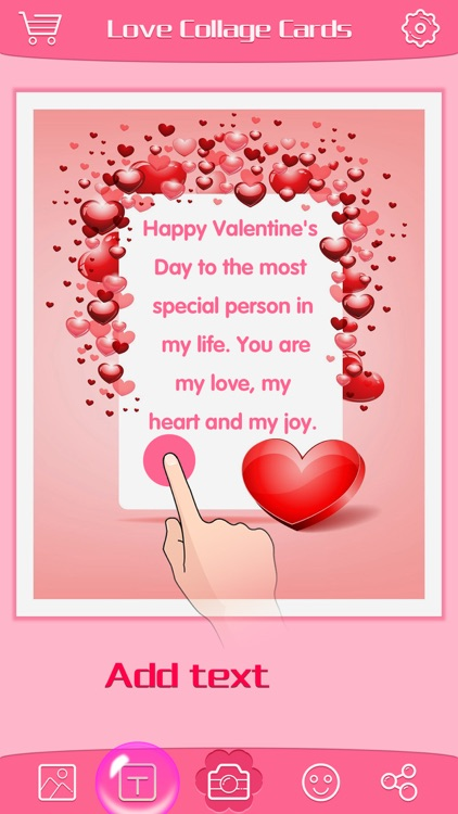 Love Greeting Cards Maker - Picture Frames for Valentine's Day & Kawaii Photo Editor screenshot-4
