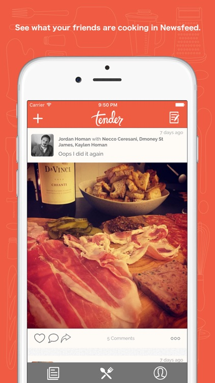 Tender - Social Food screenshot-2