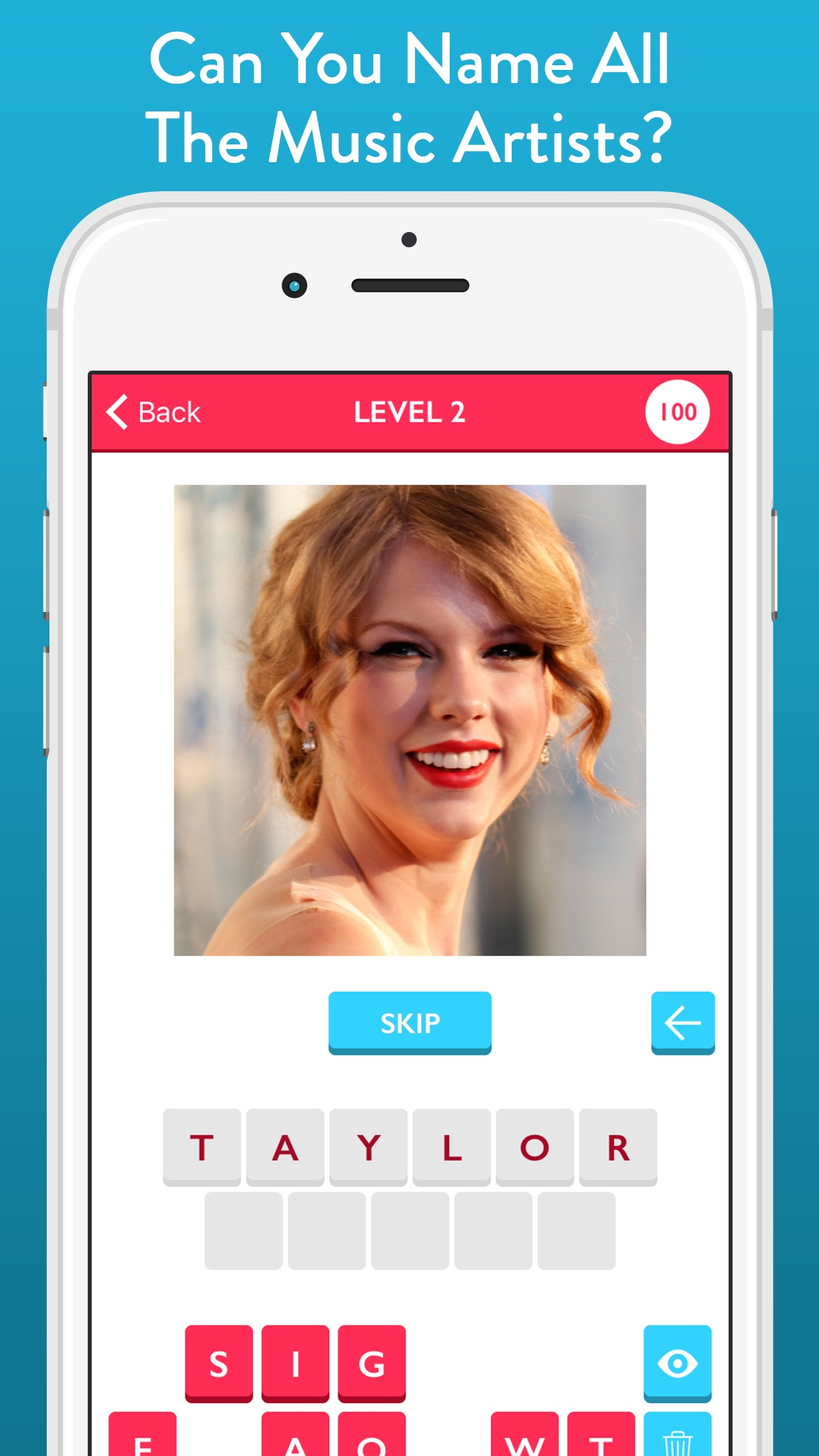 Guess The Music Artist - Free Quiz Game About Singers And Bands Screenshot