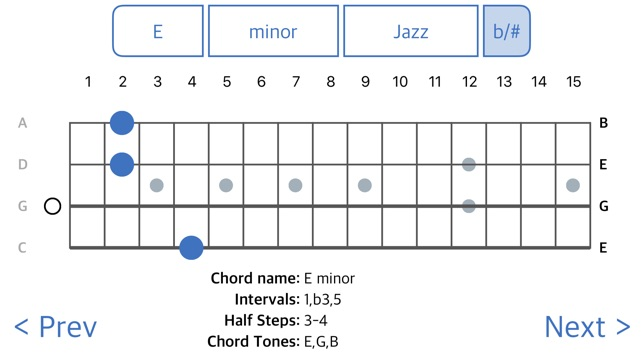 ChordFinder for Tenor Banjo on the App Store