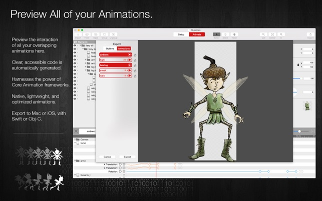 Core Animator Screenshot