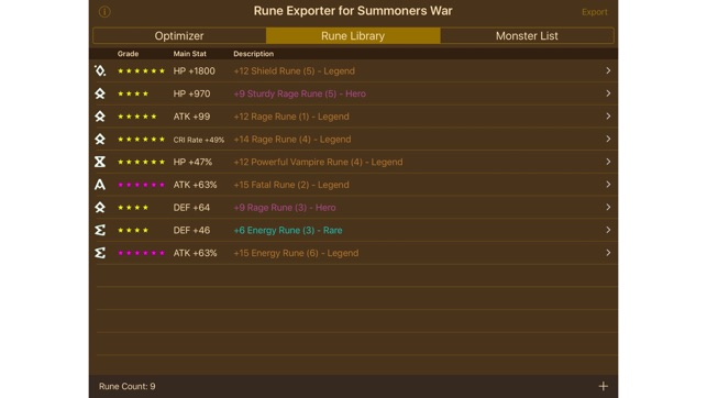 rune optimizer
