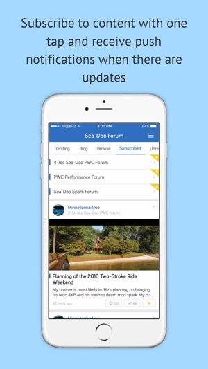 Sea-Doo Forum - For PWC enthusiasts on the App Store