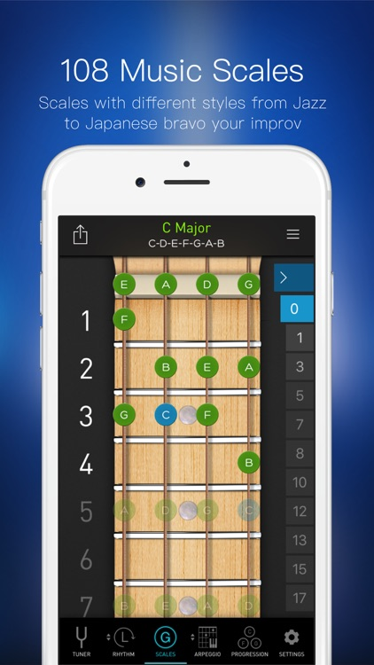 Bass Toolkit - Tuner, Metronome and Chord Progresssions screenshot-3