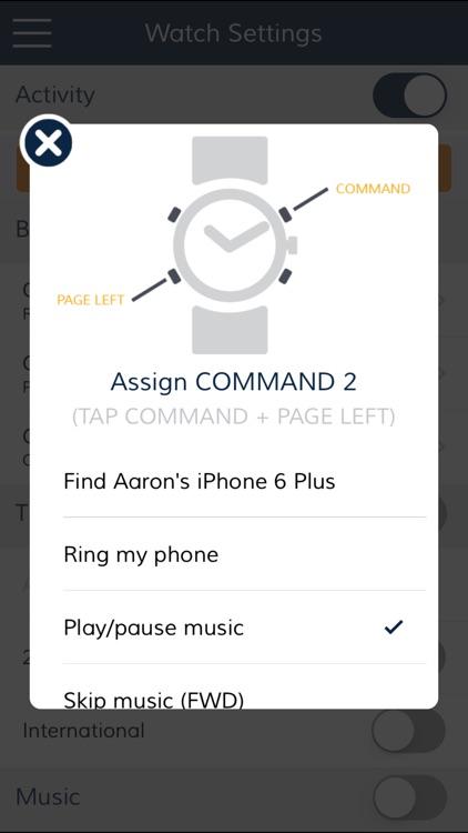 CONNECTED WATCH screenshot-4