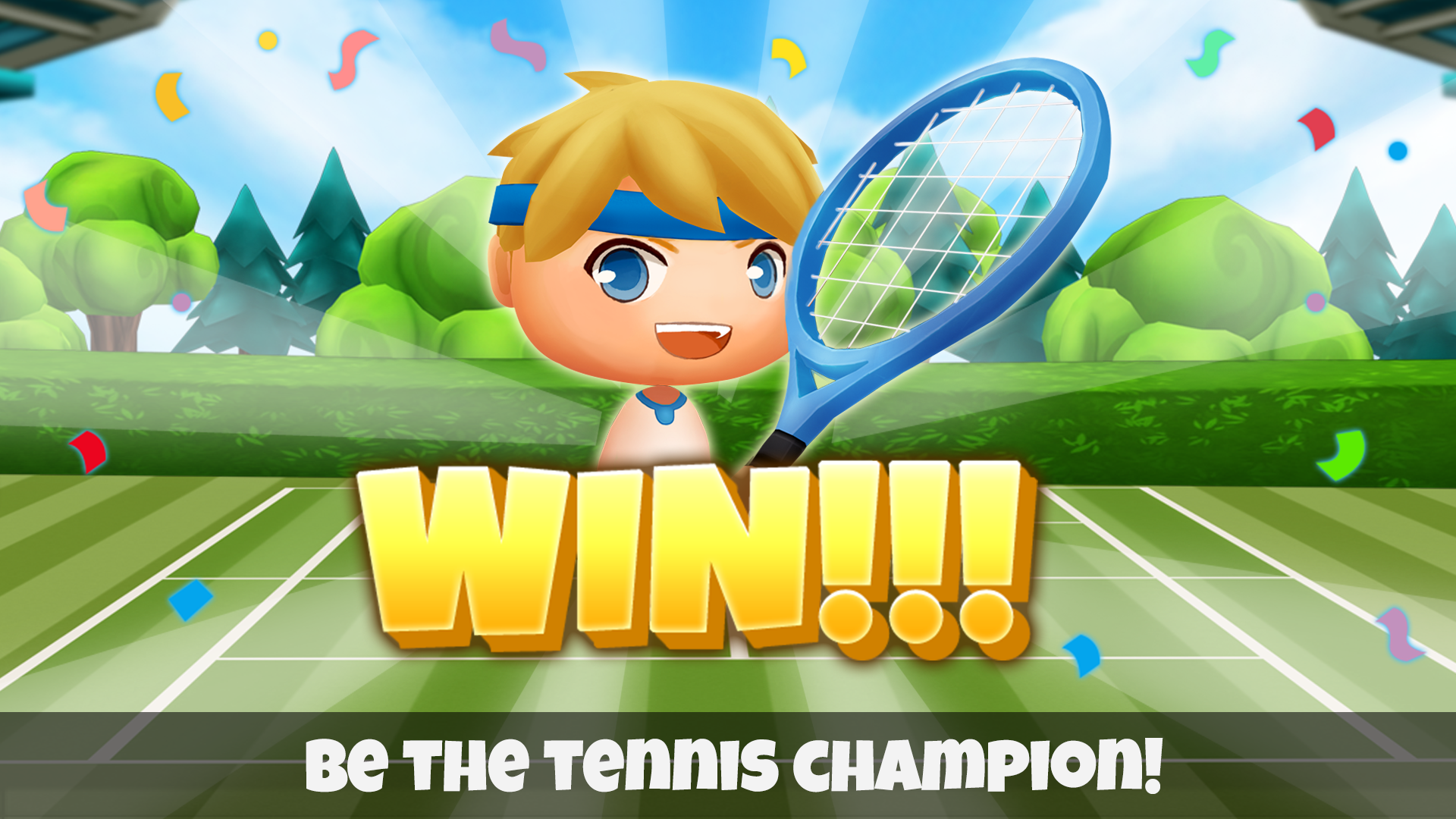 Happy Tennis screenshot 5