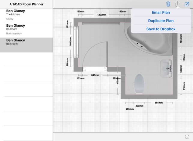 articad room planner on the app store