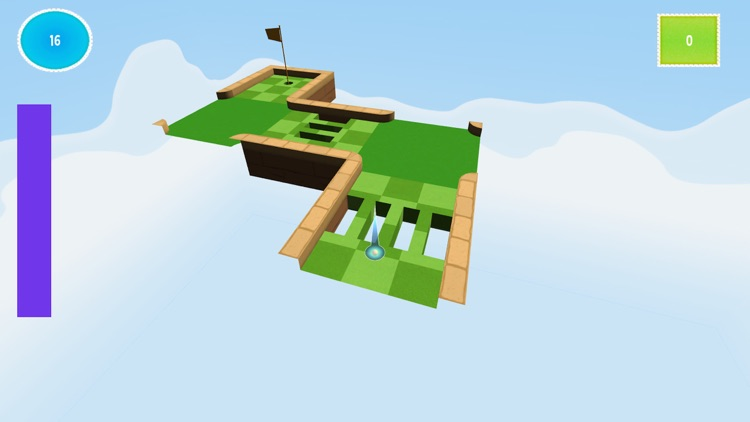Ultimate Flick Golf Challenge Mobile Game : Pixel Hole Madness screenshot-4