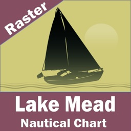 Lake Mead (Las Vegas)  - Raster Nautical Charts