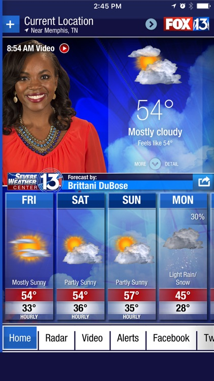 FOX13 Weather App screenshot-0