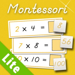 Multiplication Tables LITE - A Montessori Approach to Math