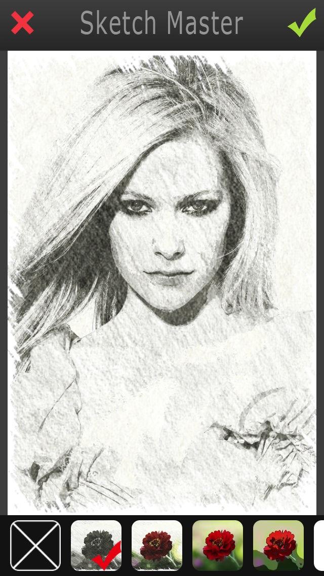 Sketch Master 2 - My Cartoon Brighten Yourself Portrait Photo Screenshot