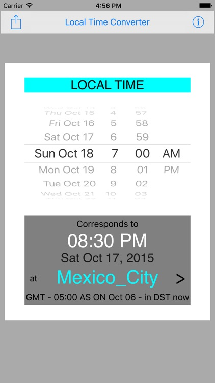 Local Time Converter
