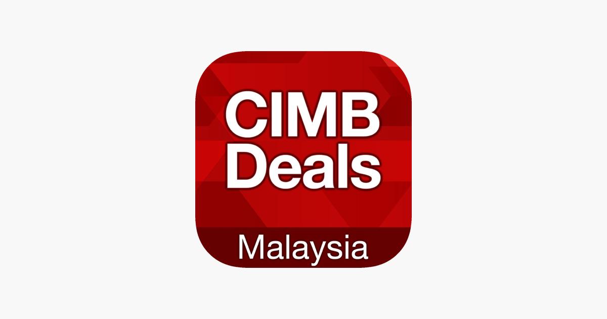 Cimb deals malaysia on the app store cimb deals malaysia on the app store reheart Choice Image