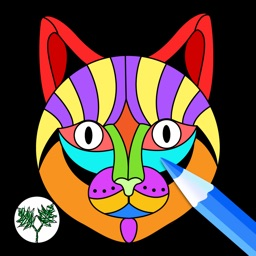Creative Cats Art Class-Stress Relieving Coloring Books for Adults FREE