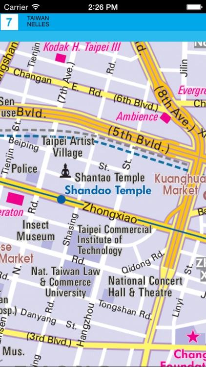 Taiwan. Tourist map. screenshot-4
