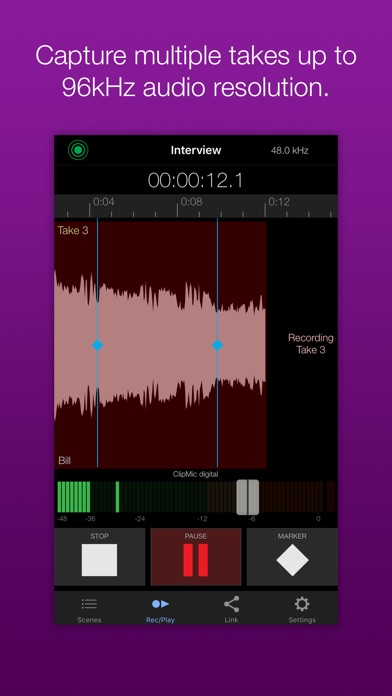 Apogee MetaRecorder screenshot one