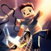 Ace Hero Voxel Flick N Fly - Lucky Block Zipline Swing Edition