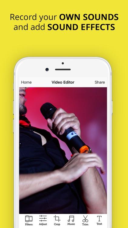 Video Snap Editor - Movie make.r & editor for Snapchat screenshot-3