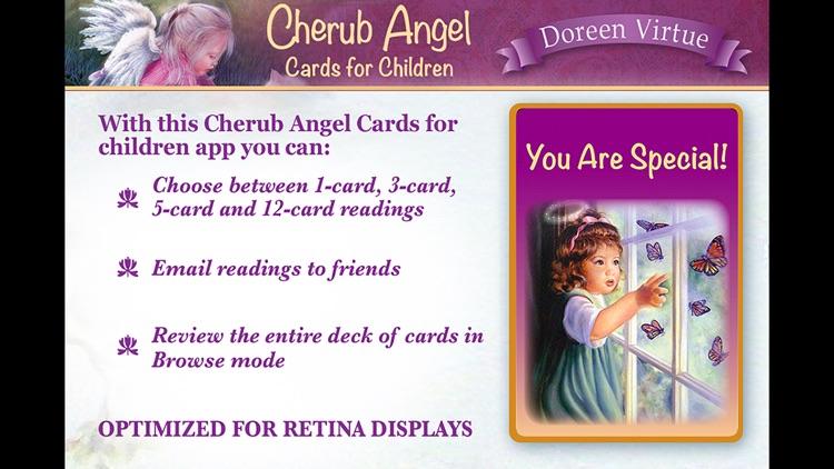 Cherub Angel Cards for Children - Doreen Virtue