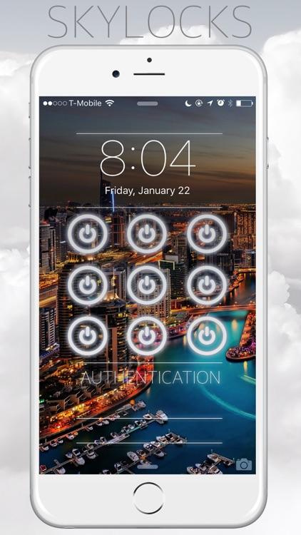 Skylocks Pro - Design Cool Lock Screen Wallpapers screenshot-3