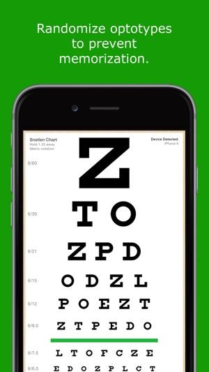 Eyechart Vision Screening On The App Store