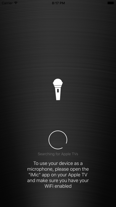 iMic - Use your phone as a microphone screenshot one