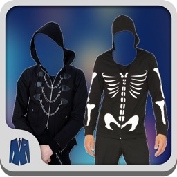 Gothic Man Photo Suit