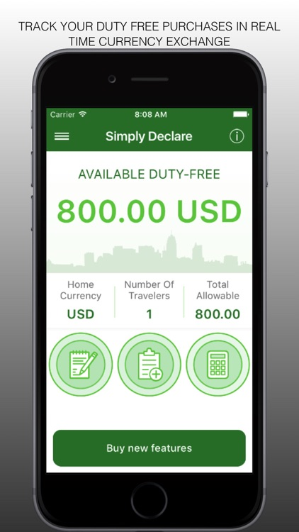 Simply Declare Travel App PRO screenshot-0