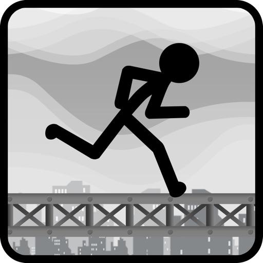 Stick-Man Epic Battle-Field Jump-er Obstacle Course iOS App