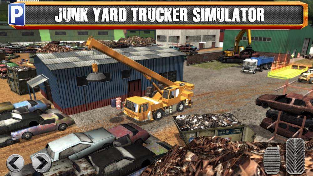 Junk Yard Trucker Parking Simulator a Real Monster Truck Extreme Car Driving Test Racing Sim
