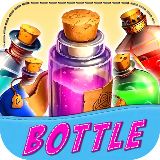 link link bottle - bottle crush game - bottle Pop