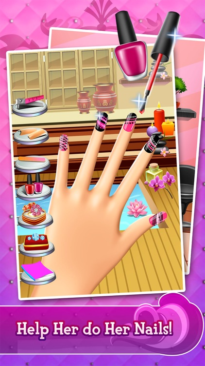 Fashion Salon Makeover Spa - Kids Girl Games! screenshot-2