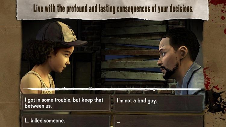 Walking Dead: The Game screenshot-3