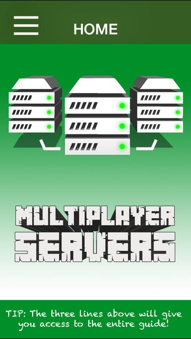 Servers for Minecraft Pocket Edition: Multiplayer Server