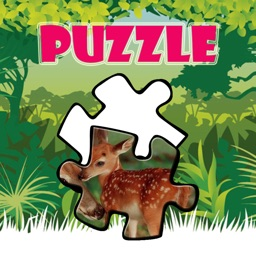 Wild Animals Jigsaw Puzzles for Kids